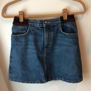 LF - Carmar Denim skirt size 26
